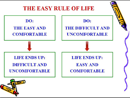 The Easy Rule of Life - Look Ma, Life's Easy